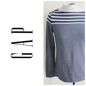 GAP 100% Cotton Striped Parisian Style Sweater